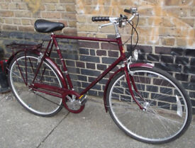 Classic vintage bike Raleigh Courier like a dutch - 23inch, 3 speed, very good condition, comfy ride