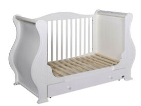Tutti Bambini Louis Cot Bed and drawer
