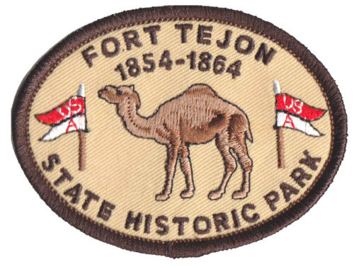 """Fort Tejon State Historic Park - CA State Parks -  3""""  Camel Patch"""