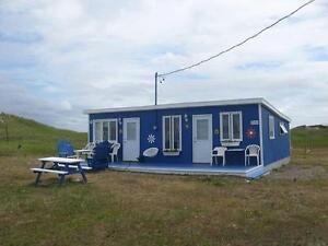 Chalet Pluvier siffleur, Pointe aux Loups, Iles de la Madeleine