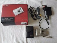 Exilm Casio EX-21050 10.1 mega pixel Camera with case and cables in original box