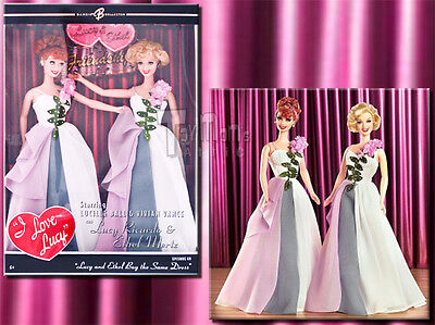 Barbie - I Love Lucy - Lucy and Ethel Buy The Same Dress - K8670
