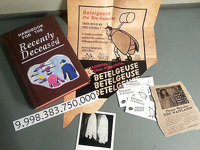 Beetlejuice Handbook for the Recently Deceased Book Costume Cosplay