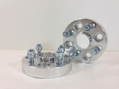 4X Hub Centric Wheel Spacers Adapters ¦ 4x114.3 ¦ 12x1.25 ¦ 66.1 CB 25MM 1 INCH