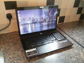 "HP 4720s ProBook 17.3"" LAPTOP, FAST CORE i7 2x 3.33GHz, 8GB, 500GB, WIFI, WEBCAM, DVDR, HDMI, OFFICE"