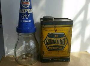 WANTED Signs tins Oil Bottles Bowsers ANY BRAND Newcastle Newcastle Area Preview