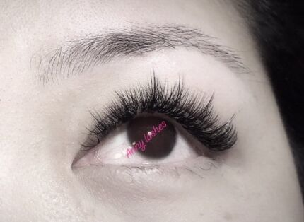 Volume, classic eyelash extensions from 60$