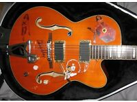 Peerless hollowbody rockabilly Eddie Cochran style electric guitar