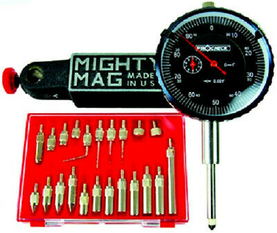 Indicator And Mighty Mag Base Set Usa With 22 Contact Points Tb1