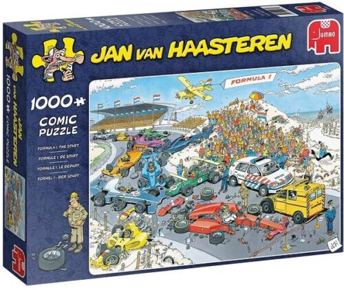 Jumbo Jan Van Haasteren 1000 Piece Jigsaw Puzzle - Grand Prix