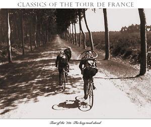Presse-The-Long-Road-Ahead-Tour-De-France-print-Cycling-art-sports-poster-22x30