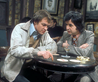 Rodney Bewes and James Bolam UNSIGNED photo - H6330 - The Likely Lads