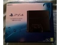 PS4 Ultimate Player Edition 1TB Brand new and sealed