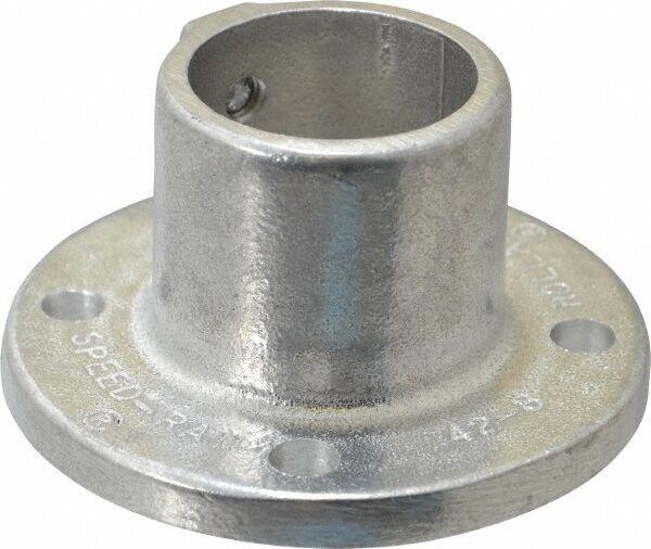 "Hollaender 1-1/2"" Pipe, Base Flange, Aluminum Alloy Flange Pipe Rail Fitting ..."