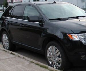2010 Black Ford Edge Limited AWD Crossover SUV