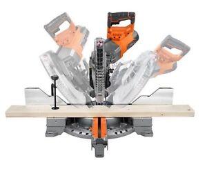 12 inch dual compound sliding mitre saw by Rigid