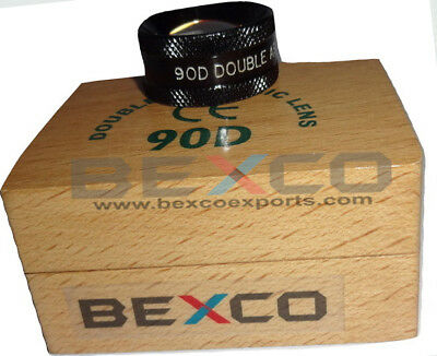 Top Quality 90d Double Aspheric Ophthalmology Lens In Wooden Case-free Ship