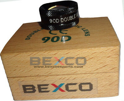 90d Double Aspheric Lens Ophthalmology In Wooden Case Free Shipping