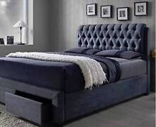 new CADILLAC BED FRAME (BEDROOM) UPHOLSTERED payment plans Bundall Gold Coast City Preview