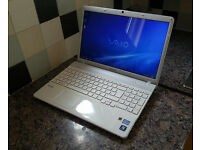 "Sony VAIO VPCEB4 15.6"" LAPTOP, FAST CORE i7 3.33GHz, 8GB RAM, 1000GB, WIFI, BLUETOOTH, WEBCAM, DVDRW"