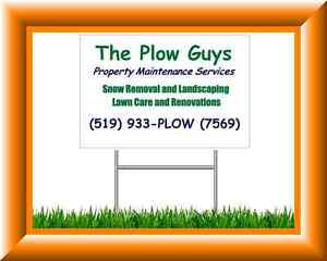 Plow Truck Drivers and Snow Shovelers Needed