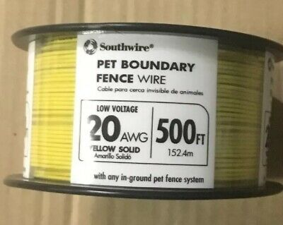 Southwire Electric Fence Charger Energizer Insulation Fence Resistant Wire