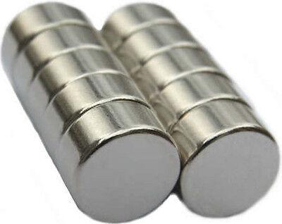 10 Neodymium Magnets 12 X 14 Inch Disc N48 Rare Earth