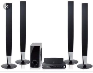5.1ch Blu-Ray/DVD Home Theater Receiver System