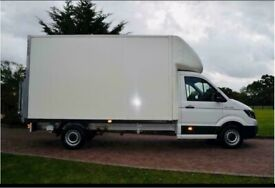 Man with van full house removal office commercial moving sofa furniture delivery man and van reliabl