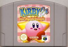 Kirby Nintendo 64 Game Cartridge ONLY AUS Sydney City Inner Sydney Preview
