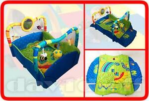 New Large Beautiful Toys Baby Play Mat Activity Centre Gym Floor Mat Great Gifts