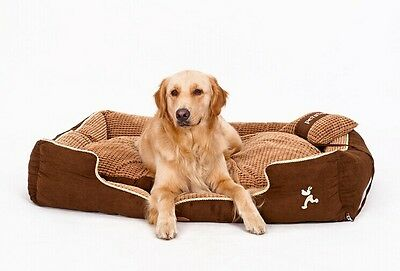 New Top Luxury Pet Dog Cat Sofa Bed House Kennel All Cover is removable S-XL ()
