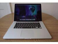 "MacBook Pro Retina 15"", 512 SSD. (Mid 2012). Mint condition."
