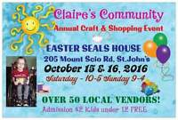 Claire's Annual Craft Fair Easter Seals