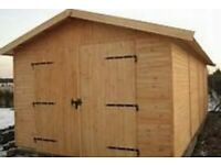 12ft x20ft Heavy Duty Garage Timber Workshop Garden Shed Delivery &Installation