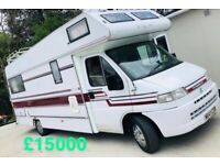 💥5/6 BERTH MOTORHOME - - SPACIOUS LAYOUT MODEL - IMMACULATE CONDITION-GREAT ALL ROUND CAMPERVAN