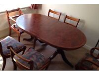 Dining Table and Chairs Set