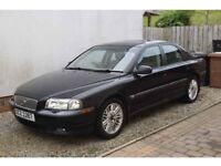 Volvo S80 T SE 2.5 2002 Black Full Year MOT