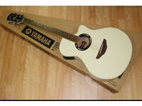 Yamaha apx 500ii electric acoustic guitar(vintage white)
