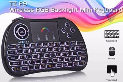 NEWEST P9 Mini Wireless touchpad Keyboard 2.4GHz Air Mouse Remote