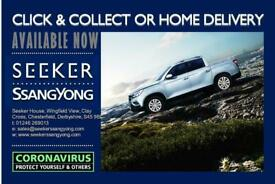 2020 Ssangyong Musso Brand New SEEKER MUSSO Double Cab Pick Up Ex Manual Best p