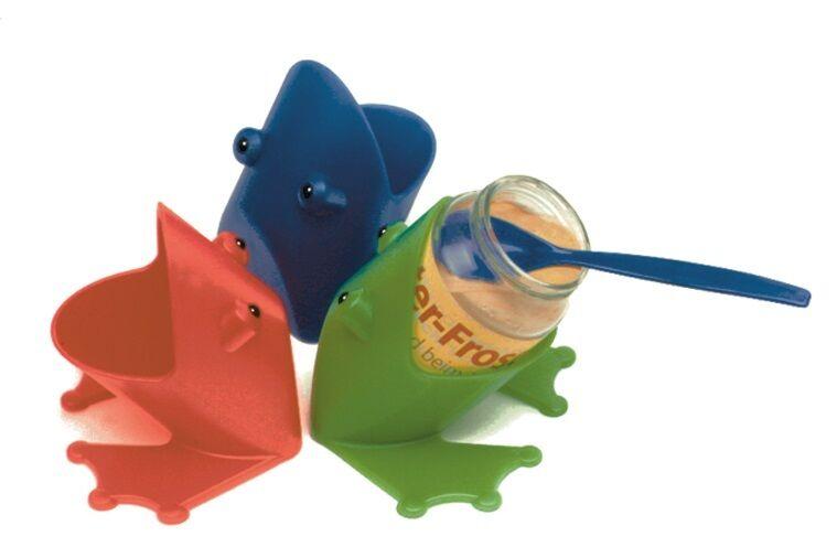 Fütter Frosch für Babynahrung aus Gläschen,rutschfest, kinderleicht füttern
