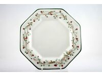 """LIKE NEW! ETERNAL BEAU DINNER PLATES (AND SIDE PLATES) (10""""; 7.75"""" AND 6"""") WILL SELL SEPARATELY"""