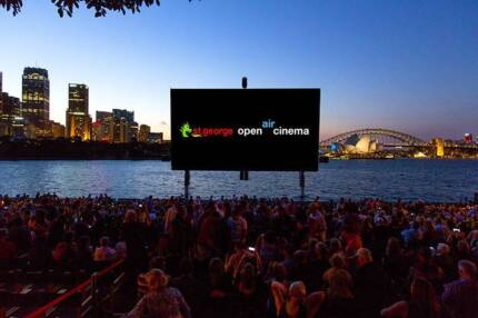 St George Open Air Cinema - 2x Tickets to BATTLE OF THE SEXES