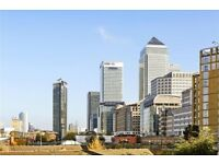 VIEWS TO CANARY WHARF!! Stunning 2 bed 2 bath apartment in Westferry. GYM. PARKING. CONCIERGE 24/7