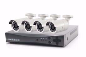 1080N CCTV Kit with 4 Bullet HD Camera