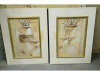 2 x Joadoor framed jug / vase prints