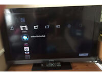 Sony 32 inch Widescreen Full HD Ready LCD TV with Freeview - near new condition