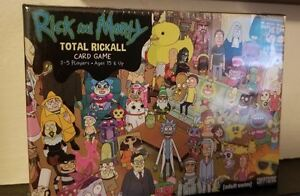 Unopened Rick and Morty Total Rickall card game