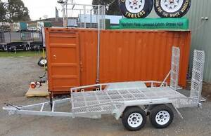 CW TRAILERS 3.5T GVM PLANT CAR TIPPER TABLE TOP STOCK GALVANISED Dubbo Dubbo Area Preview